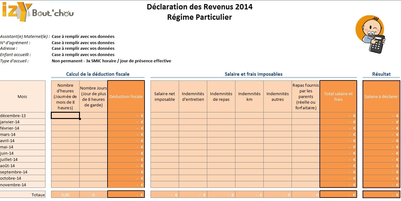 Calcul De L Impot Sur Le Revenu 2014